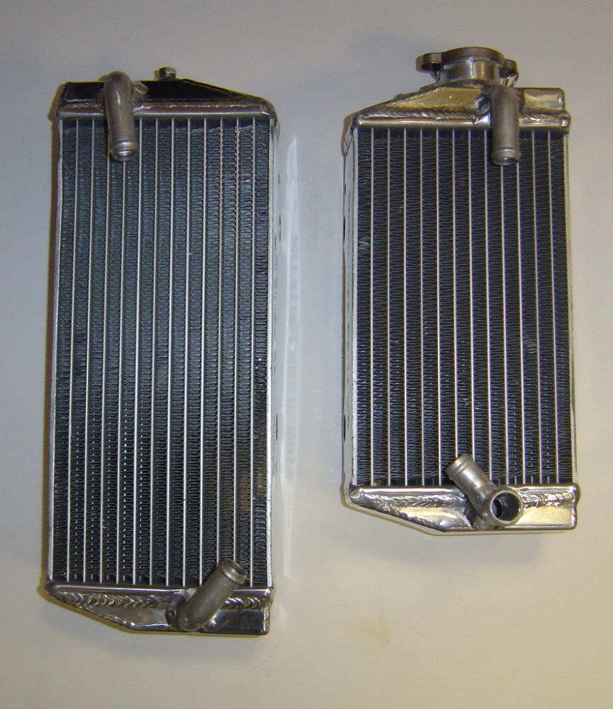 PAIR OF RMZ450 PERFORMANCE RADIATORS MX021