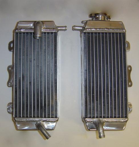 PAIR OF YZF250 PERFORMANCE RADIATORS MX026
