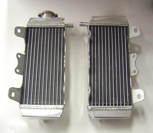 PAIR OF YZF250 PERFORMANCE RADIATORS MX001