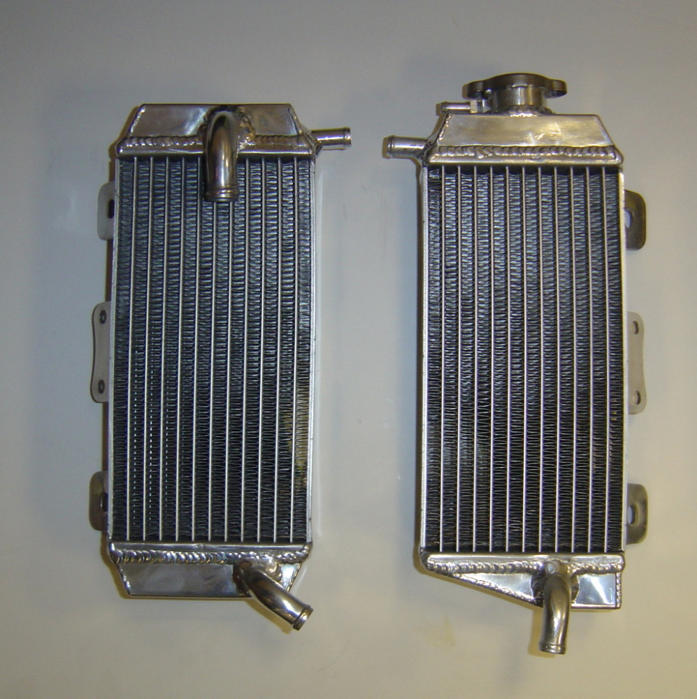 PAIR OF YZF450 PERFORMANCE RADIATORS MX019