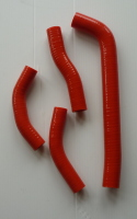 RED SILICONE HOSES (416)