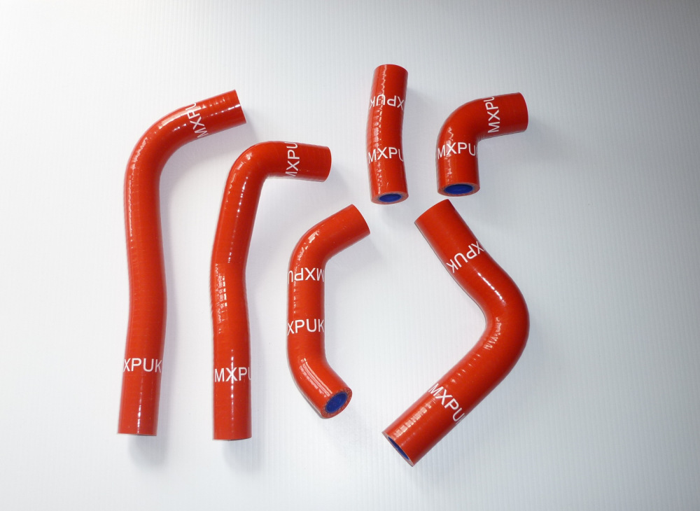 RED SILICONE HOSES H033R
