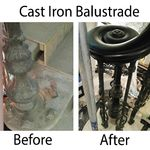 Cast Iron Balustrade restoration