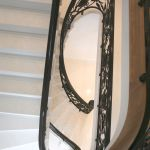 Black polished handrail