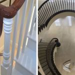 continous handrail options traditional and modern