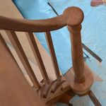 Handrail termination into cap