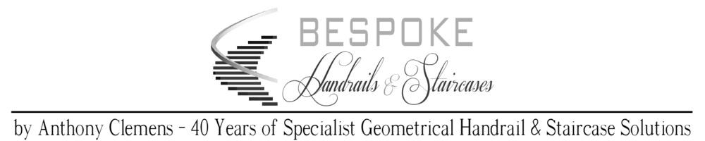 Bespoke Handrail, site logo.