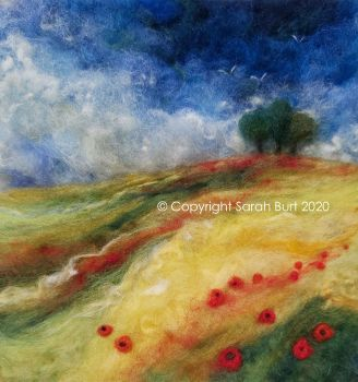 SOLD - June Poppies