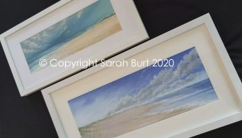 Framed Pastels Copyright