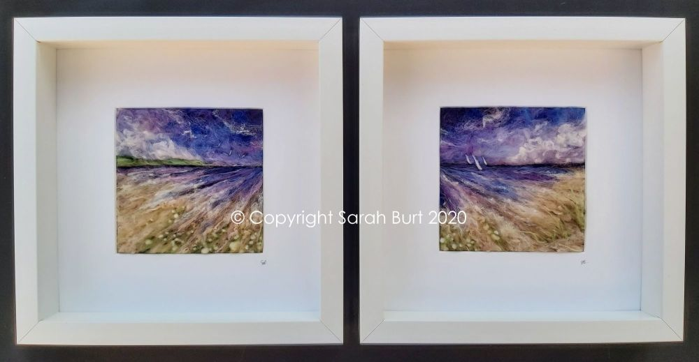 Copyright - November Shores I and Ii framed