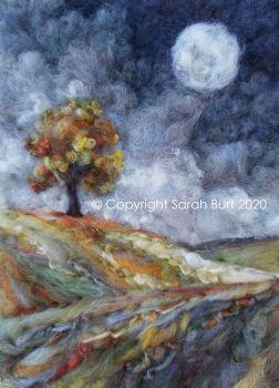 SOLD -  November Moon I