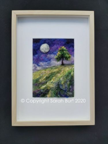 Copyright - Framed Full Moon