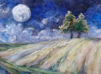 SOLD -  First Full Moon of Autumn