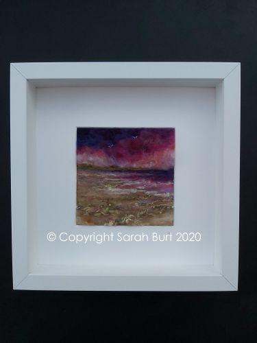 Copyright - Framed Shoreline at Dusk
