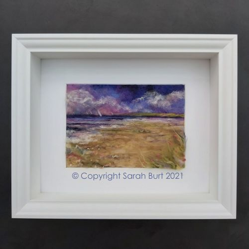 Copyright - Framed - Sailing Towards the Sea Poppies