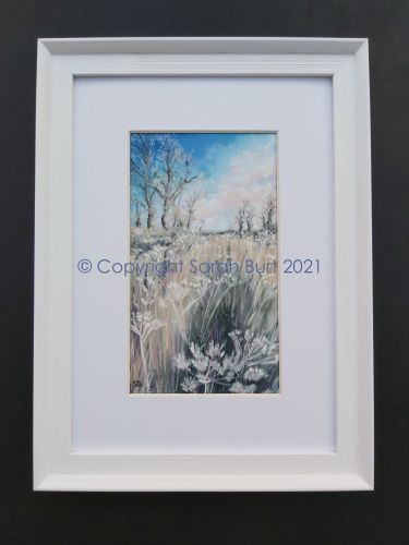 Copyright - 2021 Framed Frosted Fallow Field