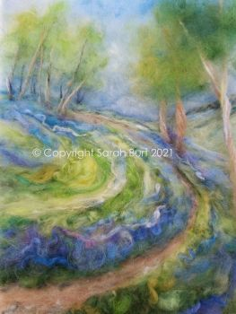 SOLD - Pathway Through the Bluebells