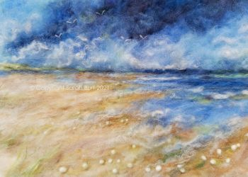 SOLD -  Above the Waves