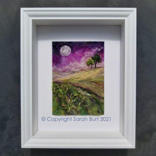 sarah-burt-contemporary-textile-art-moonscape-moonlit-wildflowers-framed