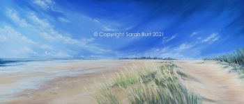 SOLD - New Pastel -  From Holkham to Wells