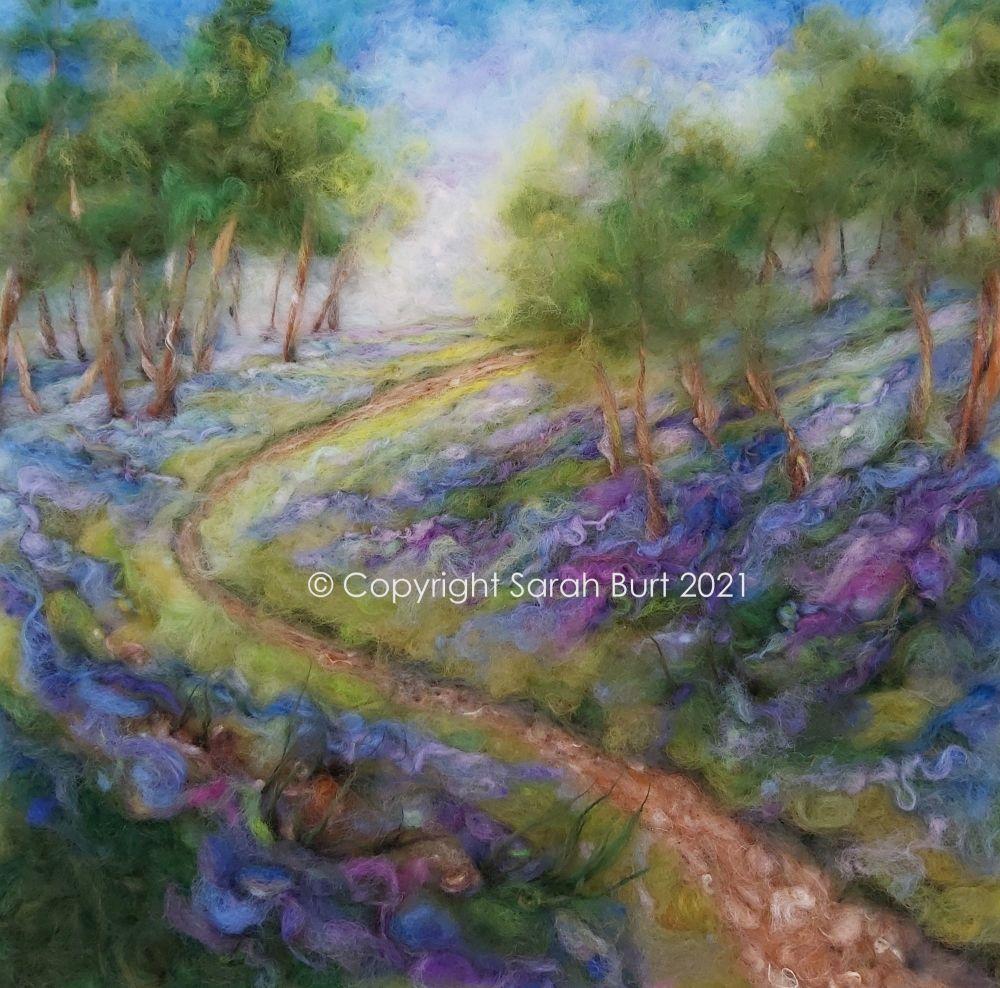 sarah-burt-contemporary-textile-art-landscape-between-the-bluebells