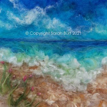 SOLD -  Centranthus by the Sea