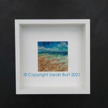 sarah-burt-contemporary-textile-art-seascape-Distant-Sales-framed