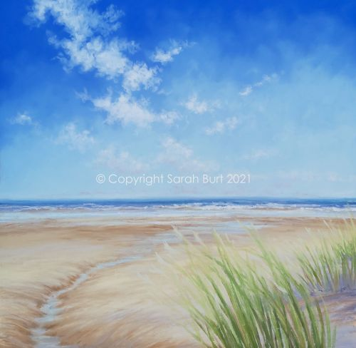New Pastel -  Towards the Waves (Collection in Person Only)