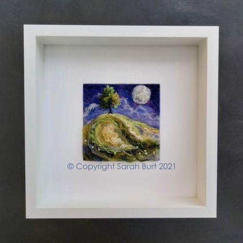 sarah-burt-contemporary-textile-art-early-june-moon-framed