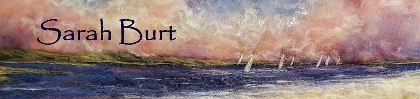Sarah Burt Design, site logo.