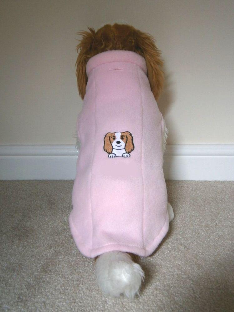 Dog Fleece Jacket - with Dog Face image