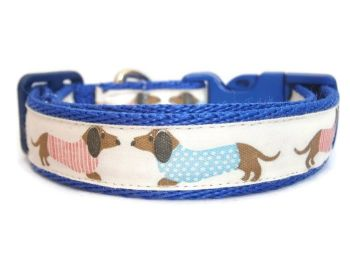Dachshunds Collar - Choice of 10 Colours