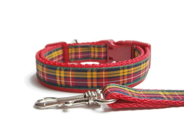 TARTAN COLLAR & LEAD - 20mm