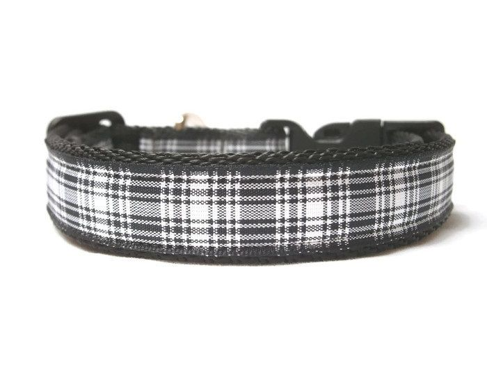 Menzies Tartan Collar - Black