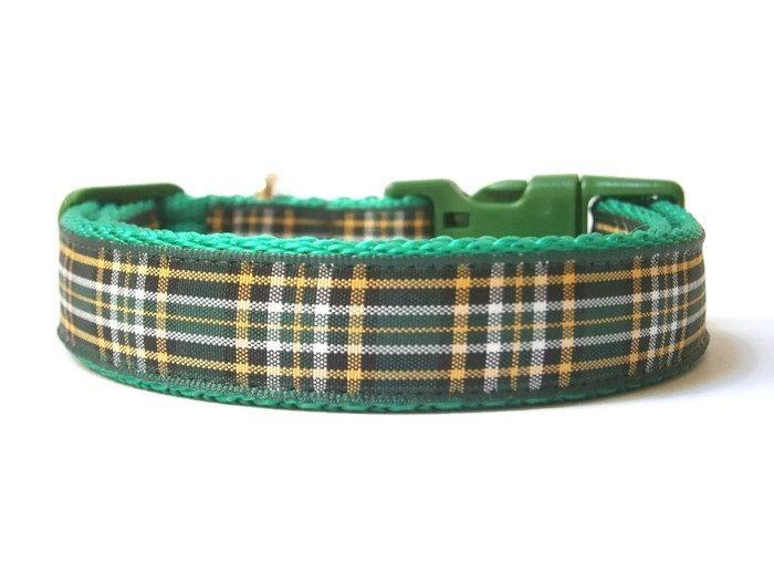 Irish National Tartan Collar - Green