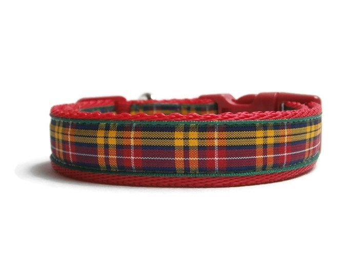 Buchanan Tartan Collar - Red