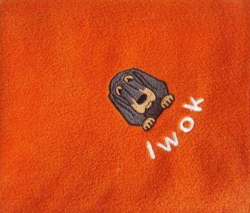 BLOODHOUND Embroidered Fleece Blanket