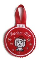 Small Bauble Christmas Decoration - Dog Breed