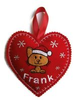 Small Heart Christmas  Decoration
