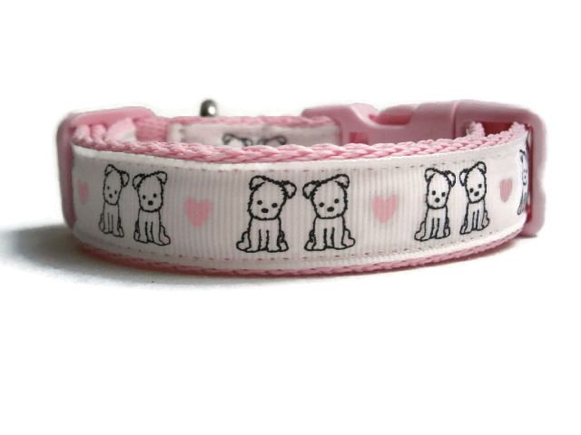 Puppy Love Collar - Choice Of Colours