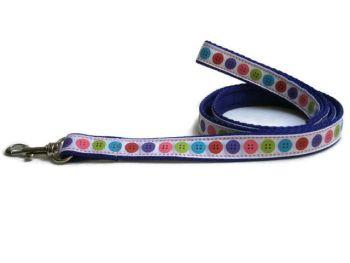 Buttons Lead - Purple
