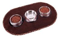 Cat Dish Embroidered Feeding Mat