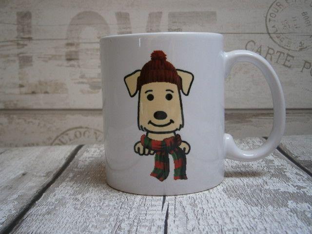 Winter Dog Breed Mug