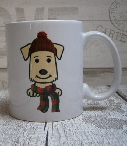 WINTER DOG BREED MUG