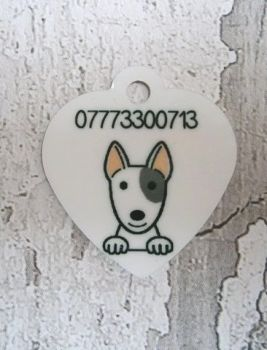 Dog Breed Tag with Phone Number