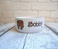 DOG BREED Personalised Bowl