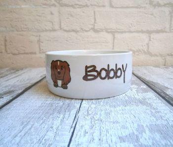 DOG BREED Personalised Bowl