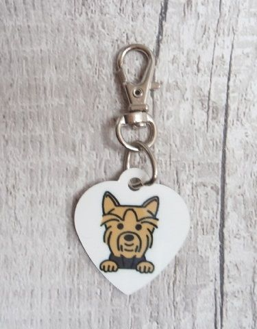 YORKSHIRE TERRIER Heart Tag