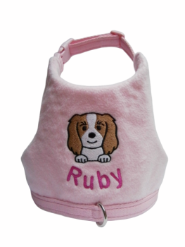 CAVALIER KING CHARLES SPANIEL Fleece Vest Harness