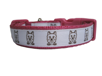 Custom Made - West Highland White Terrier Collar